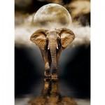 Puzzle  Clementoni-39416 Eléphant