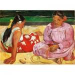 Puzzle  Clementoni-39433 Paul Gauguin - Femmes de Tahiti