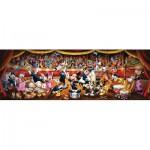 Puzzle  Clementoni-39445 Orchestre Disney