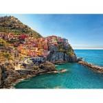 Puzzle  Clementoni-39452 Manarola Cinque Terre Italie