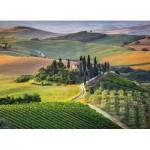 Puzzle  Clementoni-39456 Toscane, Italie