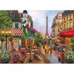 Puzzle  Clementoni-39482 Fleurs à Paris