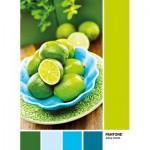 Puzzle  Clementoni-39492 Pantone - Jaune Citron