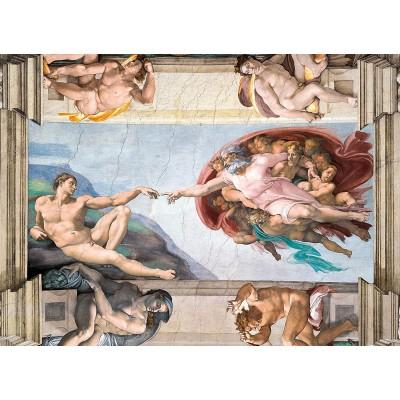 Puzzle Clementoni-39496 Michel Ange - La Création d'Adam