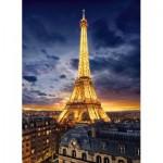 Puzzle  Clementoni-39514 Tour Eiffel