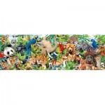 Puzzle  Clementoni-39517 Wildlife