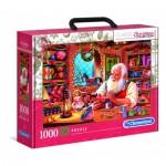 Puzzle  Clementoni-39584 Atelier du Père Noël