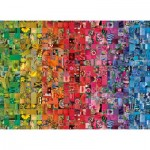 Puzzle  Clementoni-39595 Colorboom