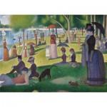 Puzzle  Clementoni-39613 Seurat Georges - Un dimanche Après-Midi à l'Île de la Grande Jatte