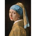Puzzle  Clementoni-39614 Vermeer Johannes - La Jeune Fille à la Perle
