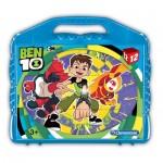 Clementoni-41188 Puzzle Cubes - Ben 10