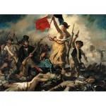 Puzzle   Delacroix Eugène : Liberté Guidant le Peuple