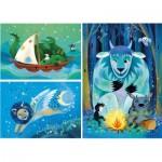 Puzzle   Fantastic Friends - 3x48 Pièces