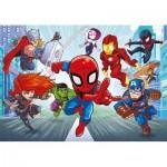 Puzzle   Marvel Superhero Supercolor (Double Face)