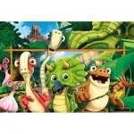 Puzzle   Pièces XXL - Gigantosaurus