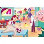 Puzzle   Pièces XXL - La Vétérinaire