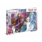 Puzzle Brillant - La Reine des Neiges 2