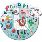 Puzzle Horloge - Lama