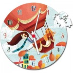 Puzzle Horloge - Montgolfière