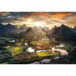 Puzzle   View of China