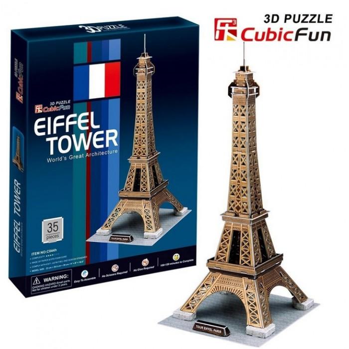 Puzzle 3D - Paris : Tour Eiffel