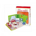 Cubic-Fun-C051-01H Puzzle 3D - Honey Room : Salon (Difficulté : 3/8)
