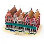 Cubic-Fun-C182H Puzzle 3D - Grand Place - Difficulté : 4/6