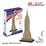 Cubic-Fun-C246h Puzzle 3D - Empire State Building (Difficulté: 4/8)