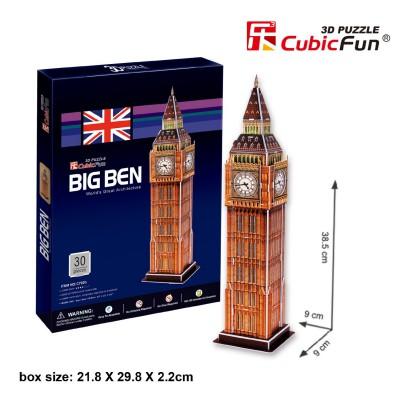 Cubic-Fun-C703H Puzzle 3D - Big Ben