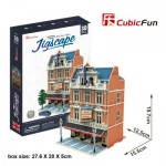 Cubic-Fun-HO4101h Puzzle 3D - Jigscape Collection - West End Theatre (Difficulté: 5/6)