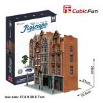 Cubic-Fun-HO4103h Puzzle 3D - Jigscape Collection - Auction House & Stores (Difficulté: 5/6)