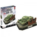 Cubic-Fun-JS4203h Puzzle 3D - British Cromwell Mk. IV - Difficulté: 5/8