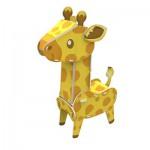 Cubic-Fun-K1503H Puzzle 3D - Girafe - Difficulté : 3/8