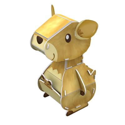 Cubic-Fun-K1504H Puzzle 3D - Kangourou - Difficulté : 3/8