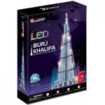 Cubic-Fun-L133H Puzzle 3D avec LED - Burj Khalifa (Dubai) - Difficulté : 6/8