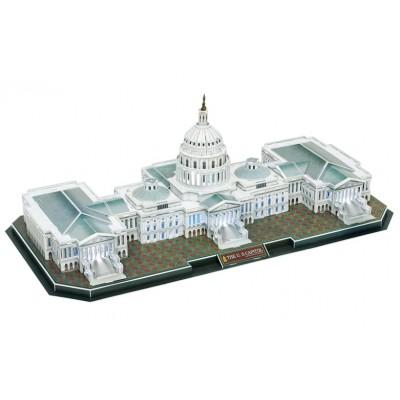 Cubic-Fun-L193H Puzzle 3D avec LED - Le Capitol - Difficulté 6/8