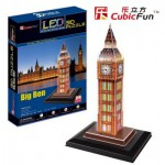 Cubic-Fun-L501H Puzzle 3D avec LED - Big Ben