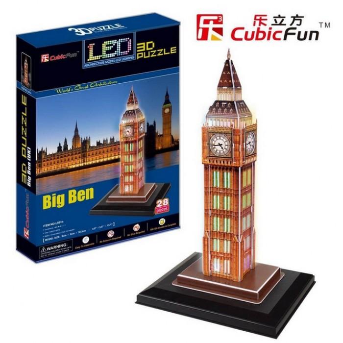 Puzzle 3D avec LED - Big Ben