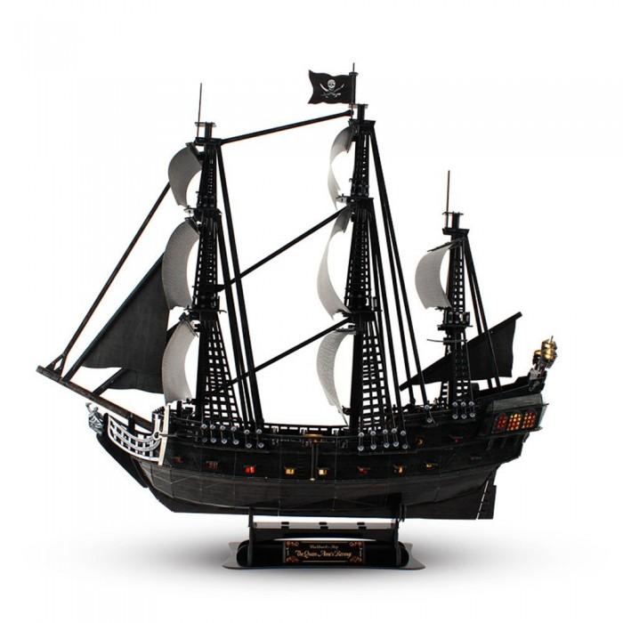 Puzzle 3D avec LED - Queen Anne's Revenge - Difficulté: 8/8