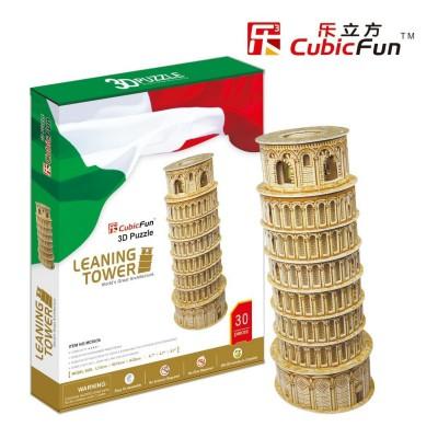 Cubic-Fun-MC053H Puzzle 3D - Tour de Pise (Difficulté : 5/8)