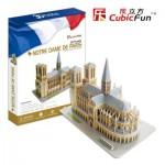 Cubic-Fun-MC054H Puzzle 3D - France, Paris : Cathédrale Notre-Dame de Paris