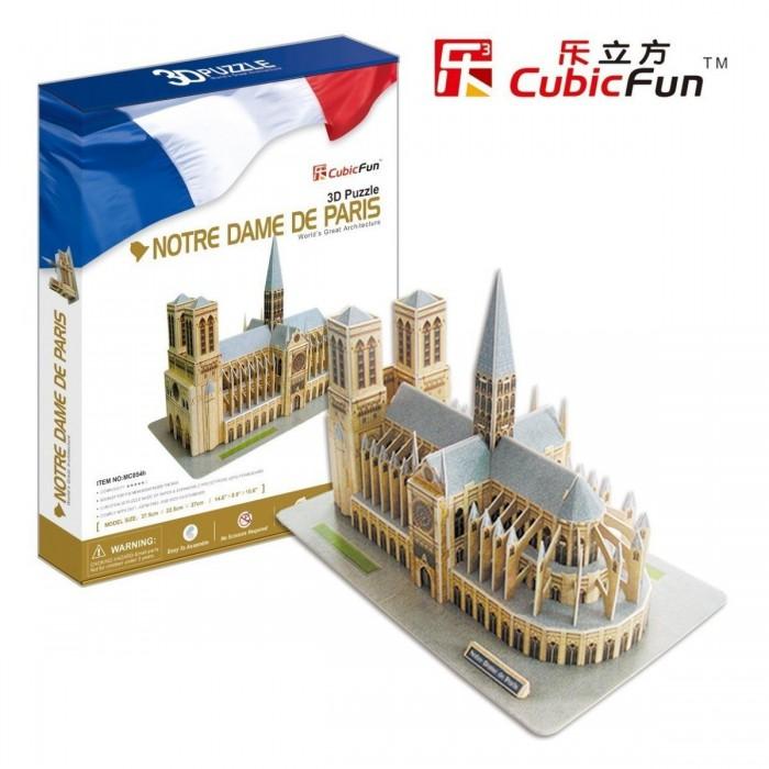 Puzzle 3D - France, Paris : Cathédrale Notre-Dame de Paris