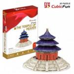 Cubic-Fun-MC072H Puzzle 3D - Chine, Beijing / Pékin : Le Temple du Ciel (Difficulté : 6/8)
