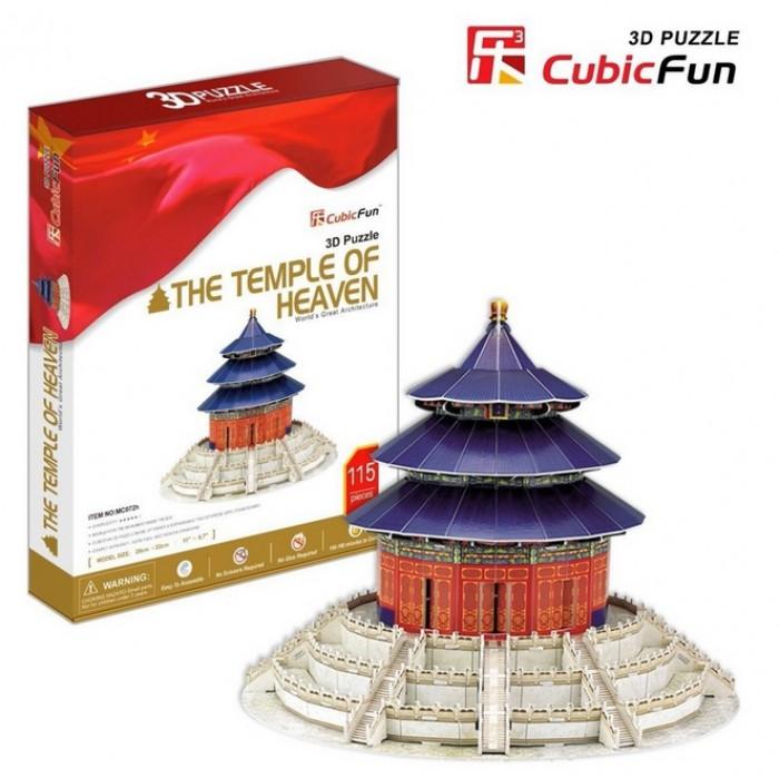 Puzzle 3D - Chine, Beijing / Pékin : Le Temple du Ciel (Difficulté : 6/8)
