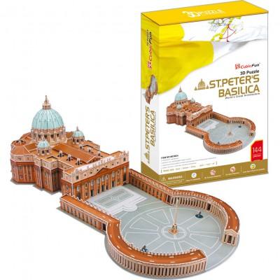 Cubic-Fun-MC092H Puzzle 3D - Basilique Saint-Pierre de Rome