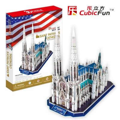 Cubic-Fun-MC103H Puzzle 3D - Cathédrale Saint Patrick