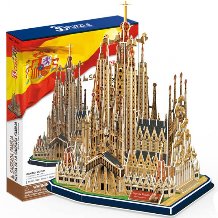 Puzzle 3D - Sagrada Família