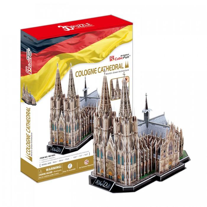 Puzzle 3D - Allemagne : Cathédrale de Cologne (Difficulté : 7/8)