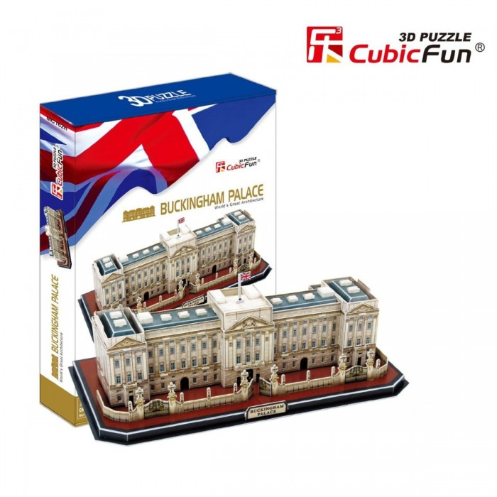 Puzzle 3D - Londres : Buckingham Palace (Difficulté : 7/8)