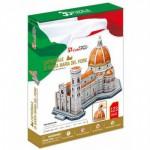 Cubic-Fun-MC188H Puzzle 3D - Cathédrale Santa Maria del Fiore, Florence, Italie - Difficulté : 4/8